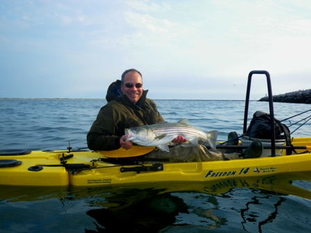 Freedom Hawk Kayak Fishing