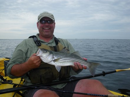 Cape Cod Kayak Fishing