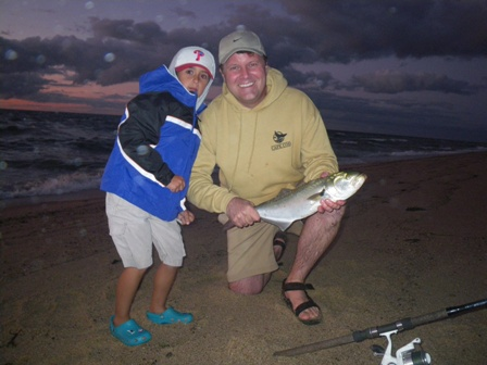 Cape Cod Surf Fishing