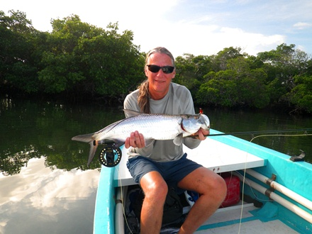 Mexico Fly Fishing Tarpon